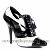 SEDUCE-458 Black/White Patent
